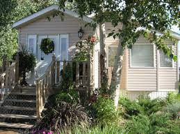 landscaping ideas for mobile homes mobile u0026 manufactured home