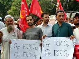 Seeking In Islamabad Tribesmen Stage Rally In Islamabad Seeking Abolition Of Fcr The