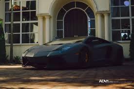 Lamborghini Aventador Specs - stealthy lamborghini aventador looking great on matte bronze