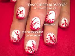 nail art by robin moses cherry blossom deliciousness http www