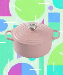 Le Creuset Disney Le Creuset Sugar Millennial Pink Matte Cookware Line