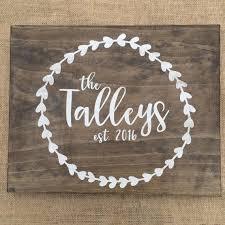 Wedding Gift Craft Ideas Best 25 Custom Wooden Signs Ideas On Pinterest Barn Board Signs