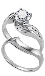 diamond rings wedding images Engagement rings with matching wedding rings jpg