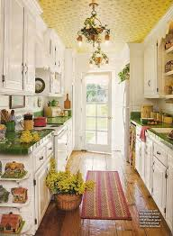 Kitchen Ideas For Galley Kitchens Kitchen Exquisite Awesome Cottage Style Kitchen Design Kitchen