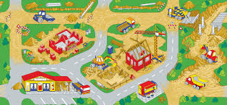 Kids Play Rugs With Roads by Construction Play Rug Rugs Ideas