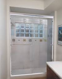 Clear Glass Shower Door by North Star Glass And Windows Shower Doors Gallery