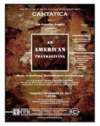 cantatica presents an american thanksgiving at emmanuel lutheran