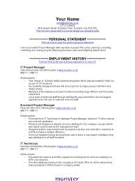 technical project manager resume examples monster resume examples resume examples and free resume builder monster resume examples cover letter monster it project manager cv template project manager employment
