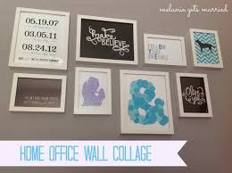 Home Office Wall by Making It In The Mitten Home Office Wall Collage