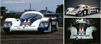 porsche rothmans motorsport livery