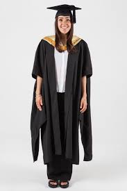 master s cap and gown masters graduation gown set for unsw science gowntown
