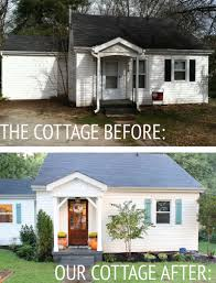 Renovations Before And After Our Cottage Exterior Before U0026 After Thewhitebuffalostylingco Com