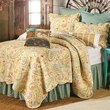 White Comforters Bed Bath And Beyond Wildflower Paisley Quilt King