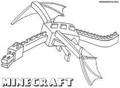 minecraft coloring picture creeper color