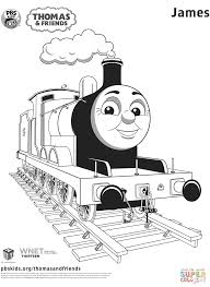 james from thomas u0026 friends coloring page free printable
