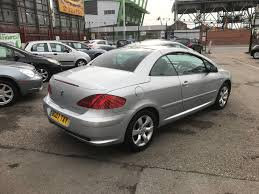 peugeot pay monthly cars 2007 07 peugeot 307 cc 2 0 16v s 140bhp 2dr coupe convertible