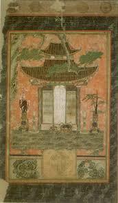 file u0027kam mo yo je do spiri house shrine painting u0027 17th century