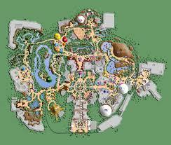 Sleep Train Amphitheater Map Disneyland X List Of Attractions By Mrzahta On Deviantart