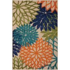 Blue And Green Outdoor Rug Outdoor Rugs You Ll Wayfair