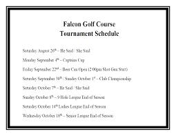 falcon golf club u0026 deli uscg base cape cod mwr