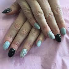 26 summer acrylic nail designs ideas design trends black nail
