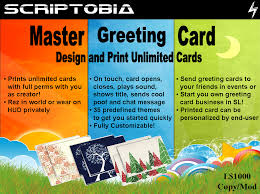 master greeting card 2 scriptobia