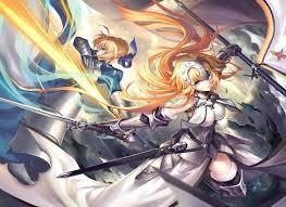 anime wallpapers girls sword fighting anime anime girls fate series saber sword fighting fate