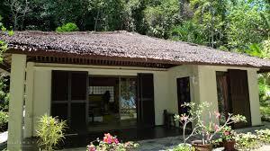 modern concrete bungalow in tazi island