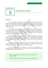 qtr 2 module 5 interactions