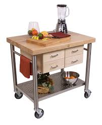 john boos cucina veneto 4 drawer kitchen cart http
