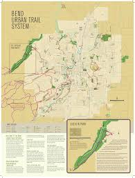 map of oregon state parks bend oregon trail map