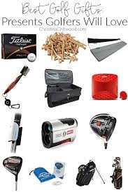 golf gifts presents golfers will