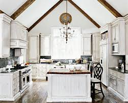 white kitchen with distressed cabinets 50 fabulous shabby chic kitchens that bowl you