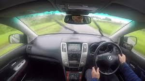 lexus rx400h road noise lv04pxa lexus rx 300 3 0 se l 5dr youtube
