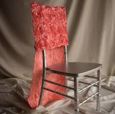 rosette chair covers chiavari chair covers