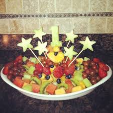 first birthday fruit platter food and drinks pinterest