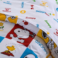 Snoopy Bed Set Snoopy Bedding