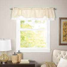 White Valance Window Valances Café U0026 Kitchen Curtains You U0027ll Love Wayfair