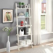 overstock com home decor briarwood home decor wood leaning bookcase free shipping today