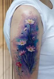 best 25 watercolor daisy tattoo ideas on pinterest chest