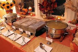 how to set a buffet table with chafing dishes a mexican buffet dinner party