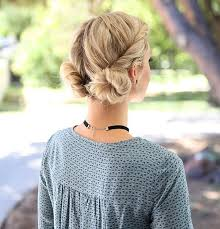 easy hairstyles for waitress s there s a new tutorial for this fast and easy double bun twist on