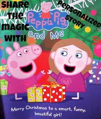 peppa pig personalized books u0026 discount code 2014hotholidaygifts