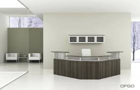 Glass Reception Desk Office Furniture Reception Desk U2013 Netztor Me