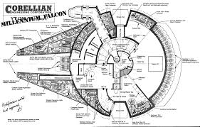Blueprint Floor Plans This Is The Blueprint To The Millennium Falcon Wired