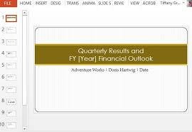 monthly report template ppt quarterly earnings report maker template for powerpoint