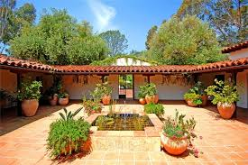 spanish style ranch homes spanish style house with courtyard so replica houses impressive