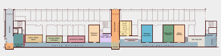 tour guide floor plan trt museum of broadcasting history