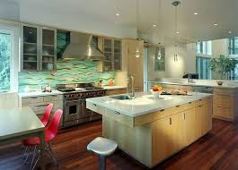 green kitchen backsplash green glass modern kitchen backsplash we need a modern kitchen