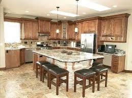 Large Kitchen Islands With Seating Breathtaking Kitchen Islands Seating Large Kitchen Island Seating
